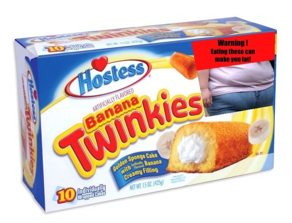 FDA Snack warning label