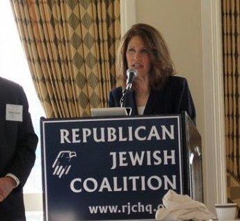 Michelle Bachman Republican Jewish Coalition