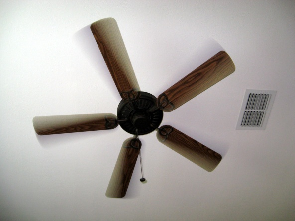 The other day may wife and I argued about how many speeds our ceiling fan has. I say it has three speeds: Low-Medium-High. My wife says it has four speeds because she counts OFF as a speed.