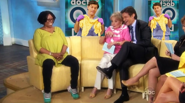 """I watched Dr. Oz (all the way through) and hoped my DVR would get """"The View"""" and not skip it like it did the last time. Whoopie is HOT!"""