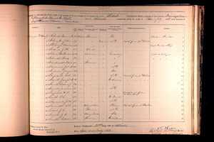 Schuyler, John- Civil War Muster Roll Abstracts, 1861-1900 Record