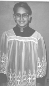 I really was an altar boy.