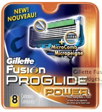 Example: Battery powered razor. The Gillette Fusion® ProGlide™ Power. Yes, it's a plain FRAKIN' shaving razor but with a battery and a microchip in it! I'm not lying here. There's a tiny computer in your a razor! Read the Gillette FAQ and be amazed! One woman from Georgia said it was awesome because her husband had to shave every day! OMG, how horrible. A guy who has to shave EVERY DAY! How did we live before we the Fusion?