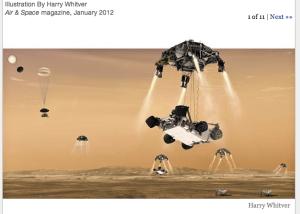 mars skycrane